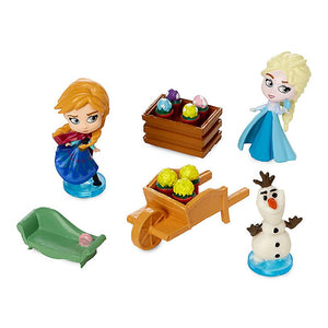 Disney Parks Frozen Storybook Playset New with Box