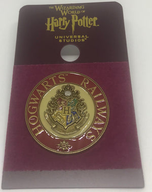 Universal Studios Harry Potter Hogwarts Railways Express Pin Wizarding World New