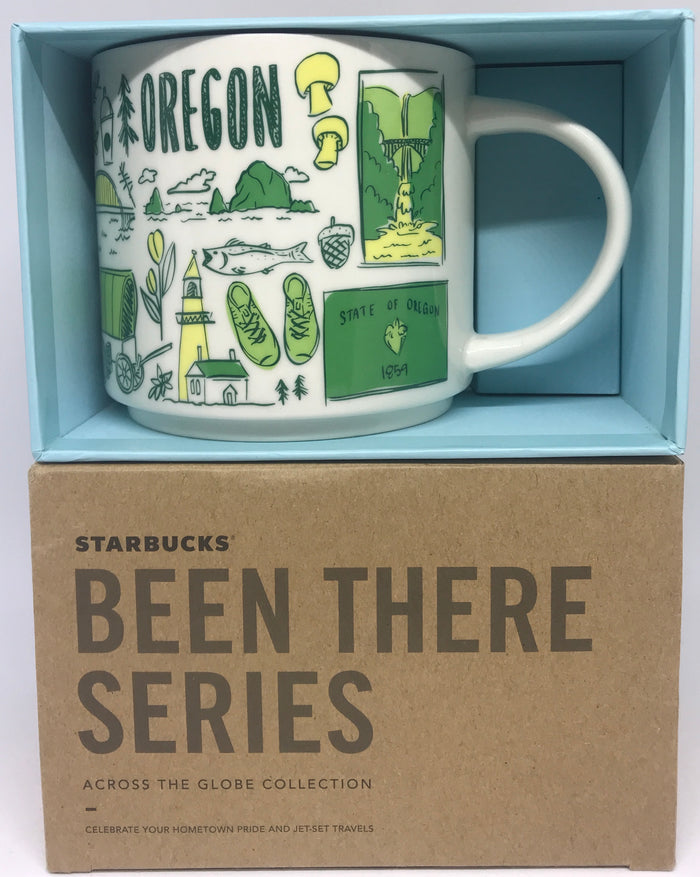Starbucks Been There Series Collection Oregon Coffee Mug New With Box