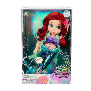 Disney Animators Collection Special Edition Ariel Doll The Little Mermaid 15''