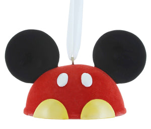 6d9f84da31d27 disney parks christmas santa mickey mouse ear hat ornament new with tag  Contemporary (1968-Now)