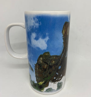 Disney Parks Pandora World of Avatar Floating Mountain Tall Latte Mug New