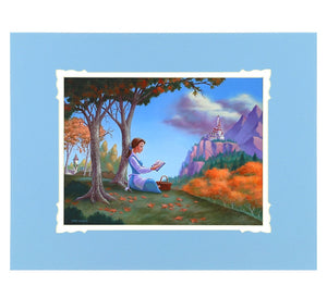Disney Parks Belle's Tale Deluxe Print by Nikolai New