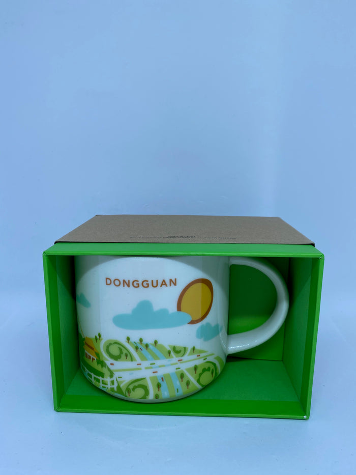 Starbucks You Are Here Collection Dongguan China Ceramic Coffee Mug New with Box