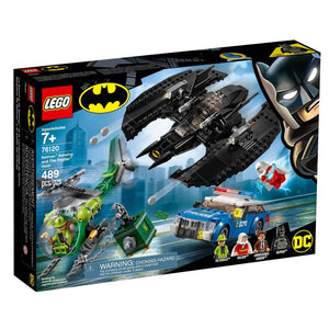 Lego 76120 DC Comics Super Heroes Batman Batwing and The Riddler Heist Plane