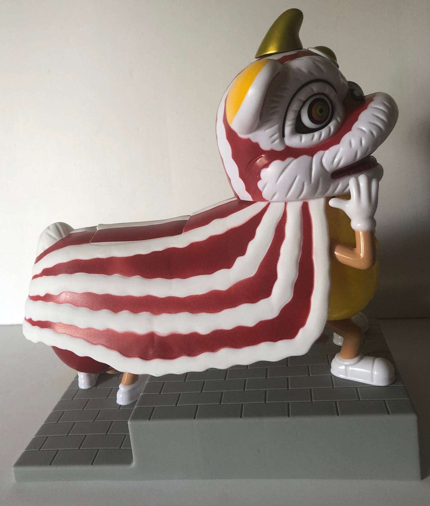 M/&M/'s Lunar New Year Lion Dance Candy Dispenser Toy Collectible Exclusive Rare
