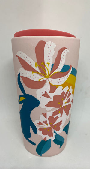 Starbucks Easter Spring 2021 Bunny Double Wall Travel Tumbler 12oz New