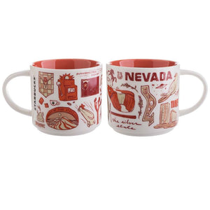 Starbucks Been There Series Collection Nevada Ceramic Coffee Mug New with Box