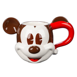 Disney Parks Mickey Mouse Whipped Cream Holiday Mug and Lid New