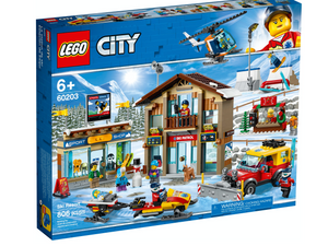 Lego 60203 City Town Ski Resort Set New with Sealed Box