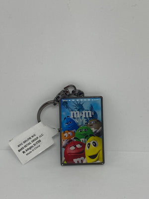 M&M's World Characters NYC Metal Keychain New with Tags