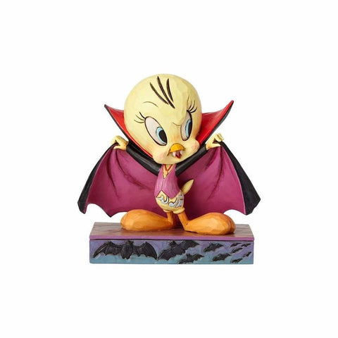 Looney Tunes Halloween Tweety Vampire Jim Shore Resin Figurine New with Box
