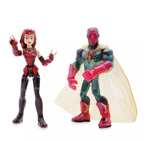 Disney Scarlet Witch and Vision WandaVision Action Figure Toybox New with Box