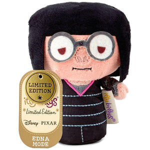 Hallmark The Incredibles Edna Mode Limited Itty Bittys Plush New with Tag
