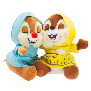 Disney Chip 'n Dale Rainy Day Plush Set Small New with Tags