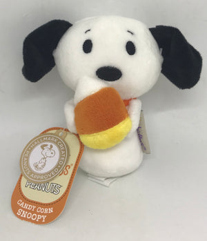 Hallmark Peanuts Halloween Candy Corn Snoopy Itty Bittys Plush New with Tag