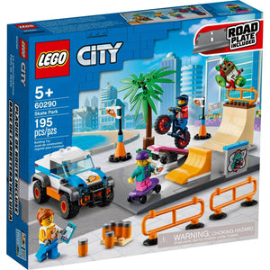 Lego 60290 City Skate Park Building Kit New with Sealed Box