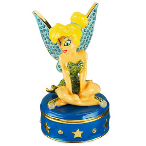 Disney Parks Tinker Bell Trinket Box by Arribas Brothers New with Box