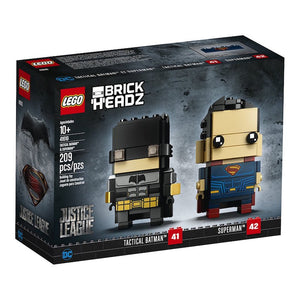 Lego 41610 BrickHeadz Tactical Batman & Superman New with Box