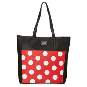 Disney Parks Minnie Polka Dot Tote by Loungefly New with Tags