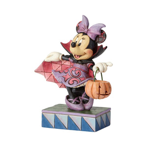 Disney Jim Shore Traditions Halloween Vampire Minnie Mouse Figurine New with Box