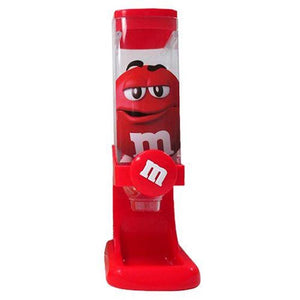 M&M's World Red Twist Candy Dispenser New with Box