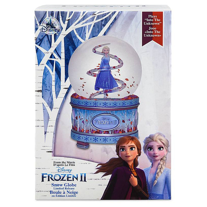 Disney Frozen II Elsa Snowglobe Plays Into the Unknown New with Boz