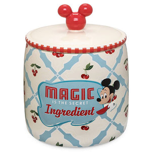 Disney Parks Mickey Magic is the Secret Ingredients Retro Cookie Jar New
