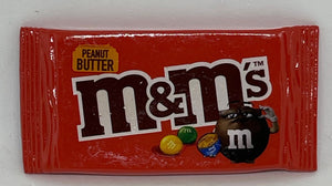 M&M's World Peanut Butter Candy Bag Magnet New with Tag