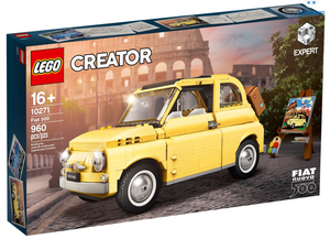 Lego Creator Expert Set 10271 Fiat 500 New with Box