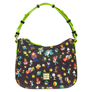 Disney Parks Pixar Hobo Bag Dooney & Bourke Woody Jessie Buzz Lightyear New