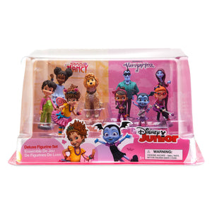 Disney Store Fancy Nancy Vampirina Deluxe Figure Play Set Cake Topper Playset