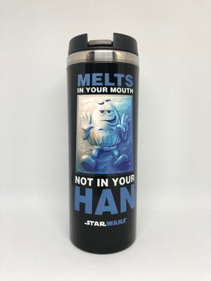 M&M's World Blue Star Wars Melts in Your Mouth Not in Your Han Tumbler New