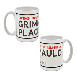 Universal Studios Harry Potter Grimmauld Place Coffee Mug New