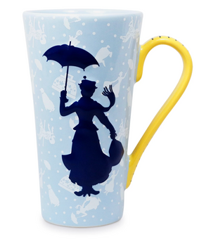 Disney Mary Poppins There's the Whole World at your Feet Latte Mug New