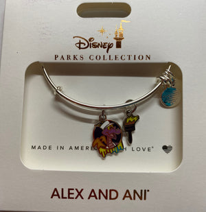 Disney Parks 2020 Epcot Festival the Arts Figment Alex Ani Bracelet Silver New
