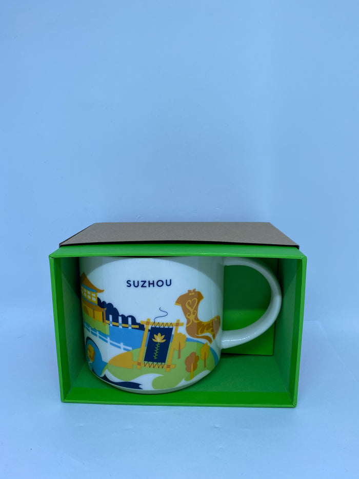 Starbucks You Are Here Collection Suzhou China Ceramic Coffee Mug New with Box