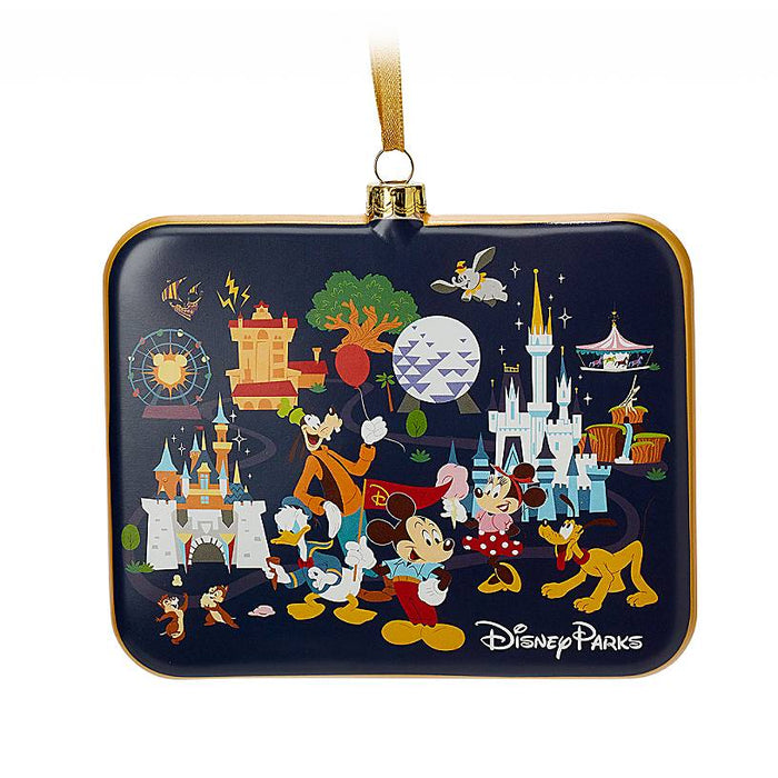 Disney Parks Life Mickey and Friends Christmas Ornament New with Tags
