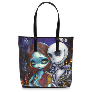 Disney The Nightmare Before Christmas Tote by Jasmine Becket Griffith New w Tags