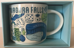 Starbucks Been There Series Collection Niagara Falls Coffee Mug New With Box