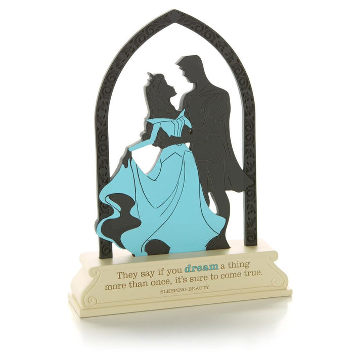 Hallmark Disney Sleeping Beauty Dream a Thing Silhouette Cutout Figurine New