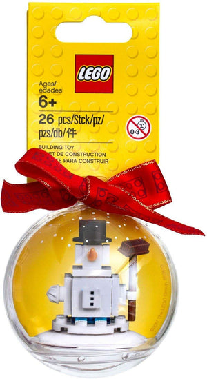 Lego 853670 Snowman Christmas Ornament 25 Pieces New with Tags