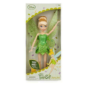 Disney Store Tinker Bell Fairy Flutter Doll New with Box