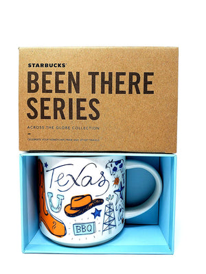 Starbucks Been There Series Collection Texas Coffee Mug New With Box
