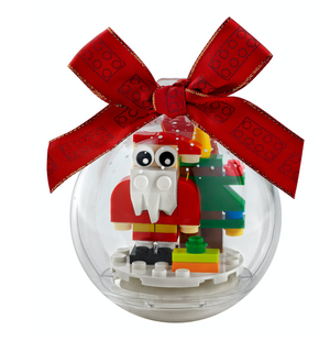 Lego 854037 Santa Christmas Ornament 44 Pieces New with Tags