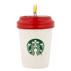 Disney Parks Starbucks Been There Hollywood Studios Tumbler Ornament New w Tag