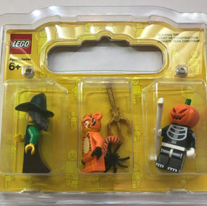 Lego 6254531 Halloween Mini Figures Pack of 3 Wizard Pumpkin New Sealed Box