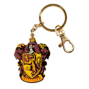 Universal Studios Harry Potter Gryffindor Crest Medallion Keychain New with Tags
