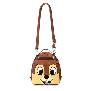 Disney Parks Chip 'n Dale Rescue Rangers Reversible Mini Backpack New with Tag