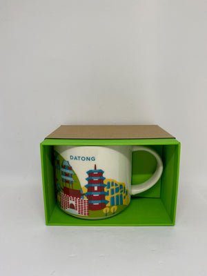 Starbucks You Are Here Collection Datong China Ceramic Coffee Mug New with Box